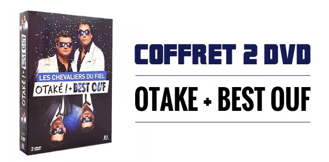 Coffret 2 DVD  - OTAKE - BEST OUF