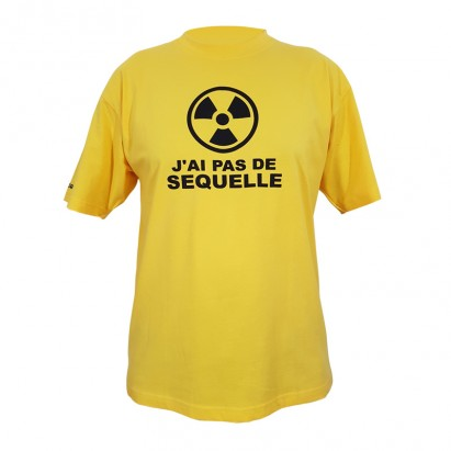 T-shirt pas de séquelle