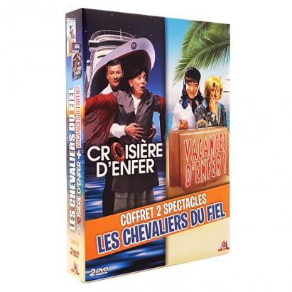 Coffret 2 DVD Croisière d'enfer + Vacances d'enfer