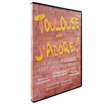 DVD TOULOUSE J'ADÔRE