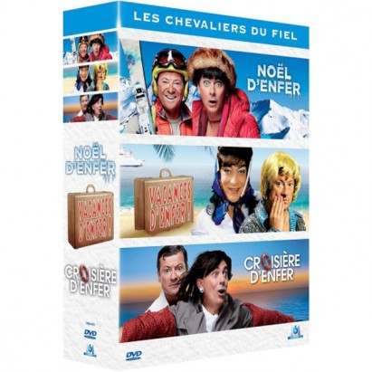 Coffret 3 DVD Tripack d'enfer